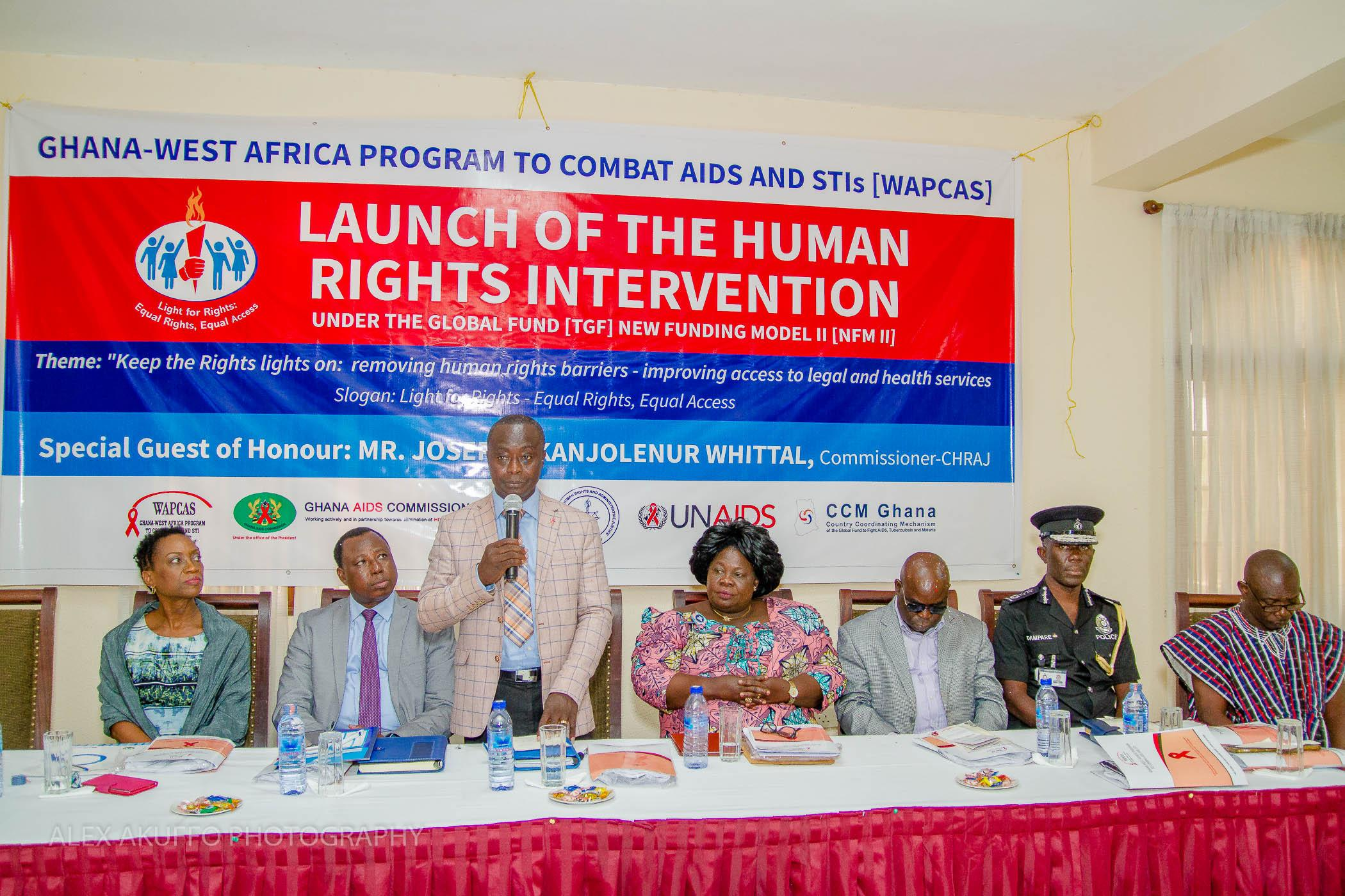 Official Launch of the Human Rights Intervention
